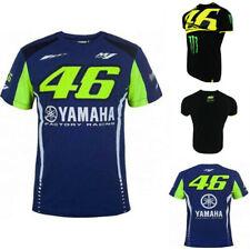UK VR46 Jersey Valentino Rossi Racing TOP Men s Motorcycle Rally MotoGP  T-Shirt 3144e439f
