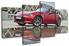 Mazda MX-5 Sports Cars MULTI DOEK WALL ART foto afdrukken