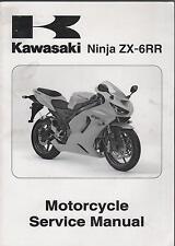 2005 KAWASAKI MOTORCYCLE NINJA ZX-6RR SERVICE MANUAL NEW
