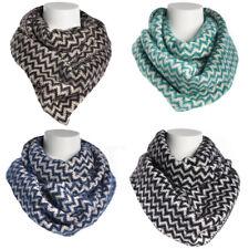 Women's Chevron Infinity Scarf Soft Warm Winter Lightweight Oversized Shawl Wrap