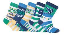 5 / 10 Pack Newborn Baby Boy Yellow Blue Deep Sea Cotton Rich Ankle Socks 3 Size