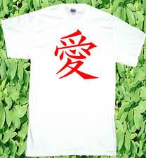 T-SHIRT LOVE japonais Amour symbole pour l'amour T-shirt