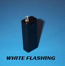 FAKE CAR ALARM LED LIGHT- WHITE BLINKING AAA BATTERY