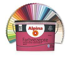 Alpina Farben Farbrezepte Innenfarbe Wandfarbe