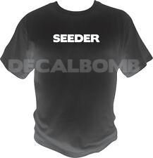 SEEDER T-Shirt - humor shirt P2P torrent peer 2 peer