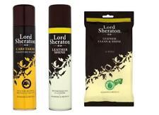 Lord Sheraton Cuir Shine Lingettes gardien polonais Spray
