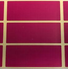 GRANDE MAUVE 30 x 78mm code couleur rectangles - archivage / boîte Stickers /