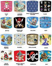 pour Enfants pirates abat-jour idéal correspond à couettes & Papier peint