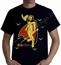 tshirt Fantaman Ōgon Batto Pipistrello dorato t-shirt cartoni animati anni 80
