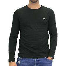 Lacoste Shirt Langarm Schwarz Longsleeve Herren TH2040 031