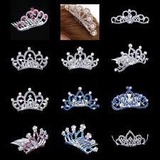 Mini Tiara Crystal Crown Hair Comb Wedding Headpiece Hair Jewelry