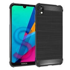 """Coque Etui Silicone Souple Fibre de Carbone Huawei Honor 8S/ Honor Play 8 5.71"""""""