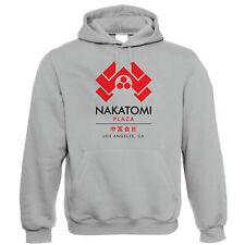 Nakatomi plaza Felpa con Cappuccio da Uomo-Regalo Per Lui Dad Action Movie Ispirato