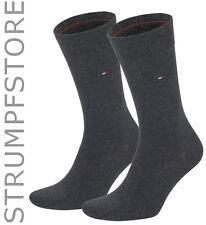 Tommy Hilfiger Classic Herren Socken 2 Paar Anthracite_030 - Art. 371111