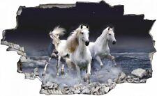 Pferde Meer Dunkel Pferd Tier Wandtattoo Wandsticker Wandaufkleber C0478