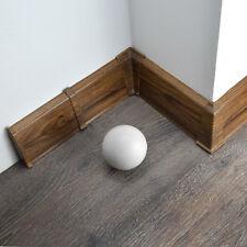 70mm PVC LEONARDO OAK 2.5m SKIRTING BOARD & ACCESSORIES floor wall gap cover