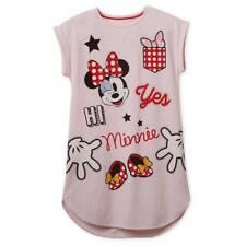 NWT Disney Store Minnie Mouse Women Nightshirt Nightgown Glasses Love Minnie