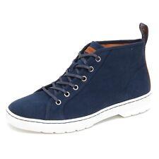 D8032 (without box) sneaker uomo canvas DR. MARTENS COBURG blu shoe man