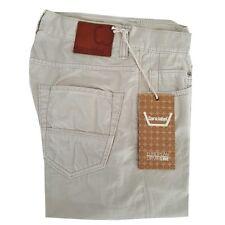CARE LABEL pantalones vaqueros delgados 402 algodón flameado 100% cotone