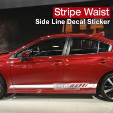 Car Side Door Panel Stripe Line Decal Sticker for Universal Car