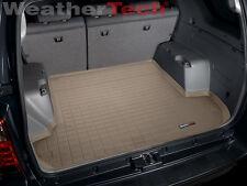 WeatherTech Cargo Liner Trunk Mat - Toyota 4Runner - Custom - 2003-2009 - Tan