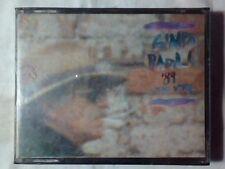 GINO PAOLI '89 Dal vivo  2 mc cassette k7 SIGILLATE