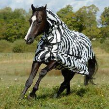Bucas Sweet-itch Full-Neck - zebra - Fliegendecke - Ekzemerdecke