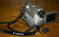 Canon Mini DV Camera Camcorder MiniDV ZR WITH AV IN/LANC broke broken for parts