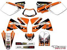 2001-2002 KTM EXC 125 200 250 300 380 400 520 GRAPHICS SET DECO DECALS STICKERS