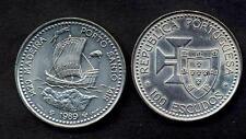PORTUGAL 100 Escudos 1989 Discovery of Madeira UNC