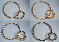 BRAND NEW - Unisex Boho/Hippy Wooden Choker Necklaces & Bracelet sets