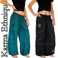 Pantalon MIXTE (36 38 40 42 44 46 48 50 52) sarouel coton grande taille PA15