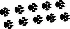 Wild Cat Dog Paw Prints Car Van Lorry Truck Sticker