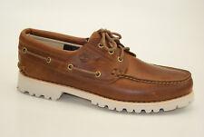 Timberland Chillmark 3-Eye Boat Shoes Ultra Leicht Herren Schnürschuhe A1RA2