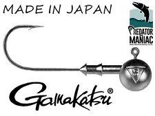 Gamakatsu 3/0 Classic jig heads. 5 pcs per pack. lures ,pike ,zed ,perch.