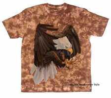 Camiseta Batik Marrón Águila Natural & Motivo FAUNA MODELO BIG Águila