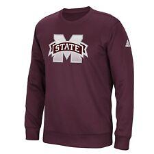 Mississippi State Bulldogs Adidas Sideline Post Climawarm Sweatshirt