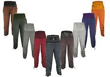 Canapa di Cotone Pantaloni MANTRA Luce Estiva Casual Lounge pescatori Yoga Pants