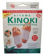 Kinoki Detox Foot Patches Pads Body Toxins Feet Slimming Cleansing Herbal