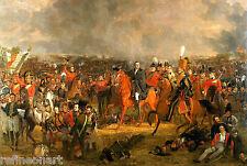 The Battle of Waterloo, Jan Pieneman Giclee Canvas Print