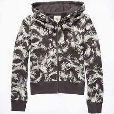 Billabong Love Palm Hoodie Pullover weiß schwarz Grafikprint C3 ZH02 BIP7 0328