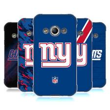 UFFICIALE NFL NEW YORK GIANTS LOGO COVER MORBIDA IN GEL PER SAMSUNG TELEFONI 4