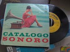 """7"""" EP CATALOGO SONORO DONAGGIO BARIMAR''S PINO CALVI GIAN COSTELLO EX"""