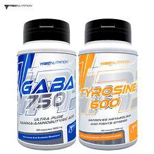 GABA & TYROSINE - Improves Sleep Quality - Recovery - Mood - Motivation - Focus