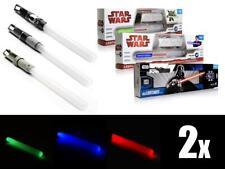 *NEU* Nintendo Wii 2x LICHTSCHWERT Star Wars - Farbwahl - Duo Laserschwert