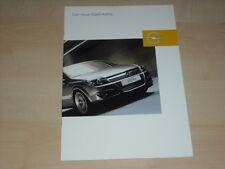 40888) Opel Astra Prospekt 03/2004