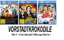 3 Blu-rays * VORSTADTKROKODILE 1 - 3 IM SET # NEU OVP +