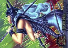 X-MEN FLEER ULTRA 1995 HOLO RELIEF N°  77 SPIRAL