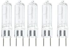 Anyray A1708Y (5)-Pack JCD 75W G8 120V Halogen Light bulbs G8.6  75Watt GY8.6 T4
