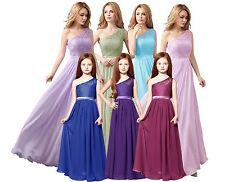 Bridesmaid Dress Junior Flower Girl Dresses Princess Pageant 6-14 years